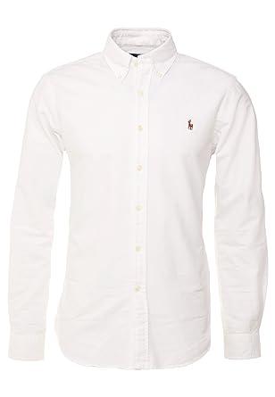 eec52165f Polo Ralph Lauren Shirts Button Down Tessuto oxfod Classic Fit  Amazon.co.uk   Clothing