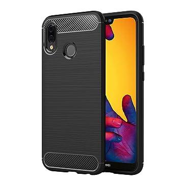 best service 3bc7a 25731 Huawei P20 Lite Case, Elekin Black TPU Phone Case for: Amazon.co.uk ...