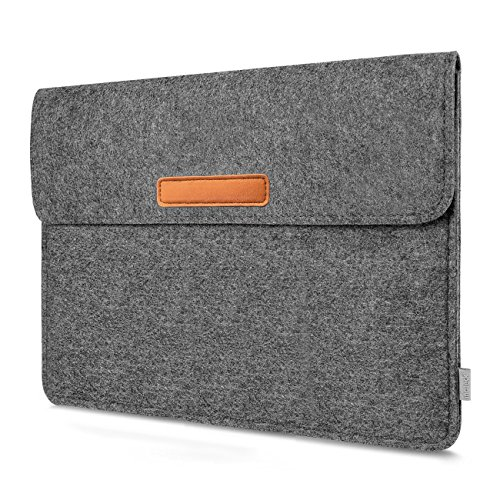 Inateck 10.5-11'' Tablet Sleeve Carrying Case Compatible 2018 iPad Pro 11''/10.5'' iPad Pro & iPad Air 2019/9.7 iPad Air/Galaxy Tab - Dark Gray