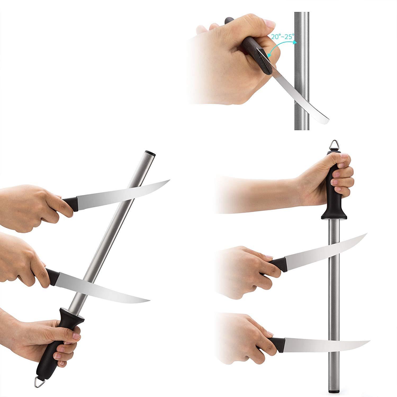 Amazon.com: RENA germany-knife afilador Cuchillos de Acero ...
