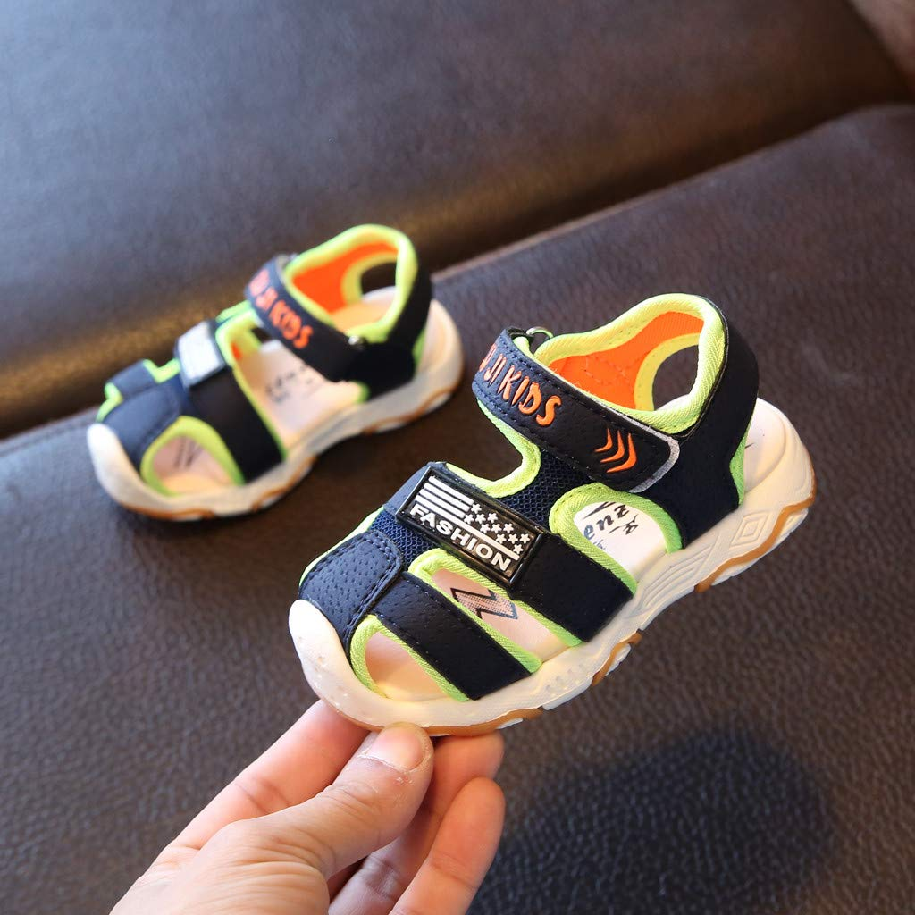 Toddler Shoes Infant Running Sneakers Summer Sandals Closed Toe Beach Shoes Sandals Sneakers Memela