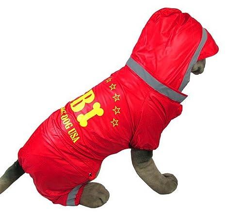 smalllee _ Lucky _ store tamaño mediano Perro Ropa FBI traje ...
