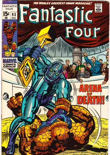 Fantastic Four #93 Silver Age Marvel