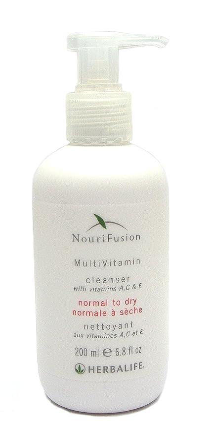 Herbalife nourif usion Multi Vitamin Loción limpiadora para piel seca 200 ml