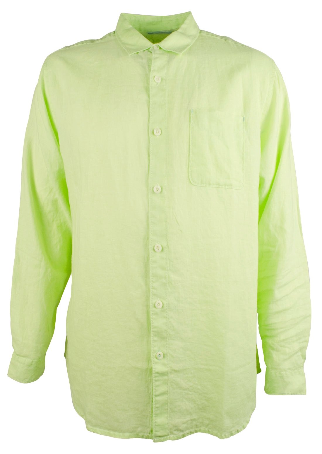 Tommy Bahama Men's Big and Tall Sea Glass Breezer Linen Long Sleeve Shirt-LP-3XT by Tommy Bahama
