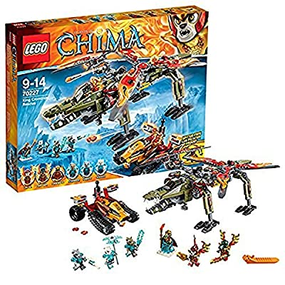 LEGO Legends of Chima 70227 King Crominus' Rescue: Home & Kitchen