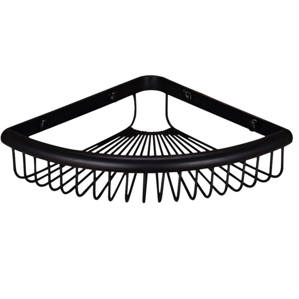Amazon.com: weirun baño latón 1-tier triangular Estantería ...