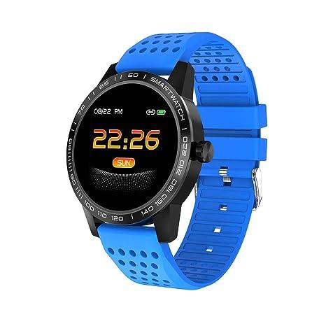 Amazon.com: Reloj inteligente T2C MenIP68 resistente al agua ...