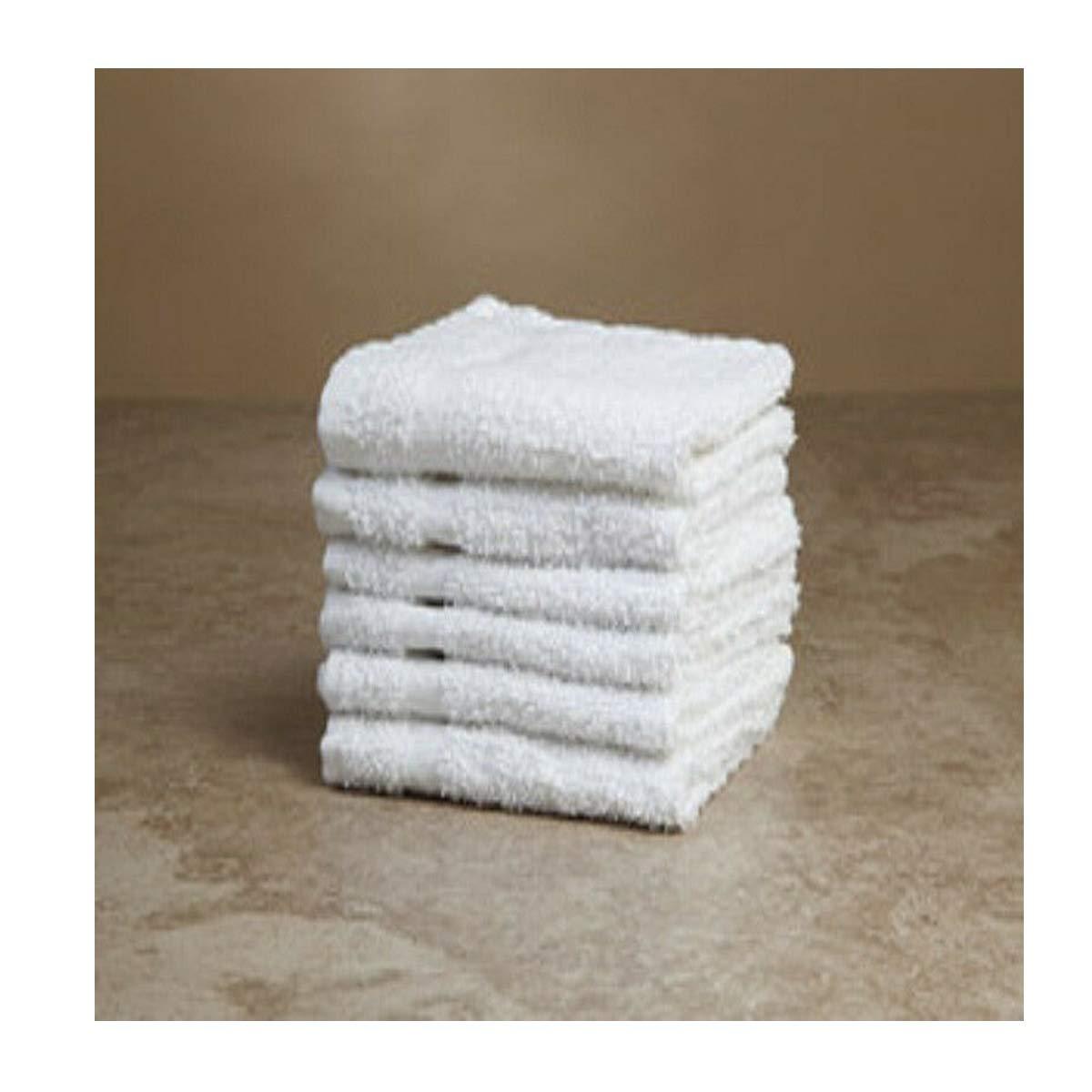 Unik always 240 (20 Dozen) 100% Cotton washcloths Single cam Border Wholesale Price 12x12