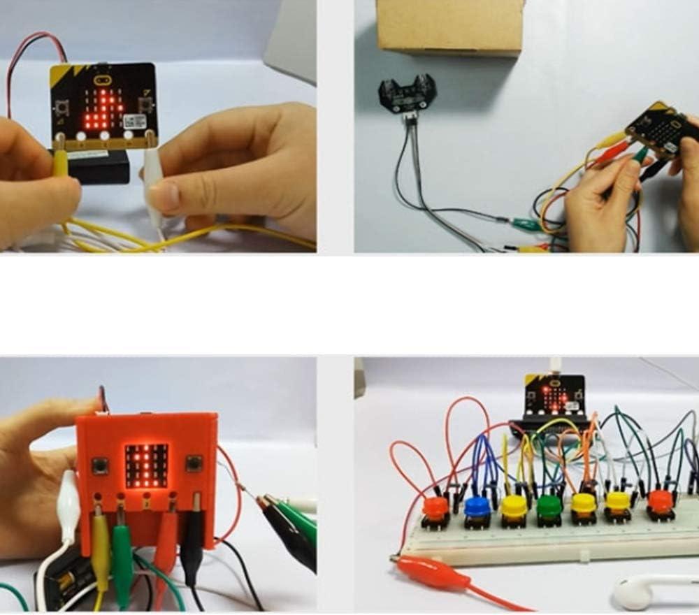 Diagn/óstico de Interruptores de Defectuosos Pruebas Nuluxi Pinzas de Cocodrilo Alambres de Puente Cable de Prueba Aislado Pinzas de Cocodrilo Pinzas de Cocodrilo de Doble Extremo para Experimentos