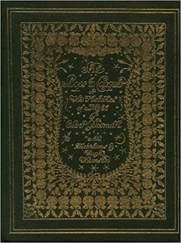 Read online She Stoops to Conquer or the Mistakes of a Night : Gold Gilt Edge Edition with Illustrated Panels PDF
