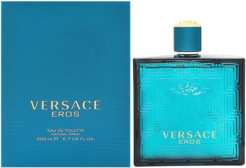 Versace 60334 - Agua de colonia, 200 ml