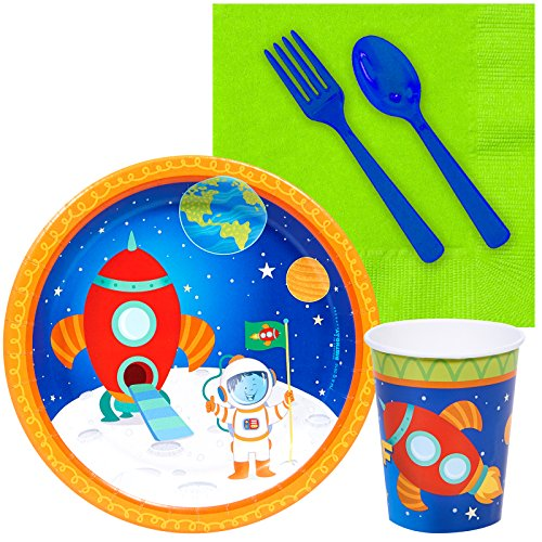 BirthdayExpress Solar System Rocket to Space Astronaut Party Supplies - Snack Party Pack by BirthdayExpress