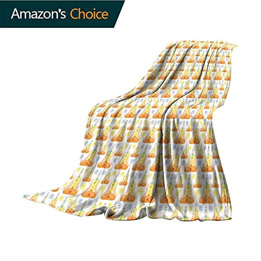 Custom&blanket Manta Muy Suave y acogedora para Yoga, patrón ...