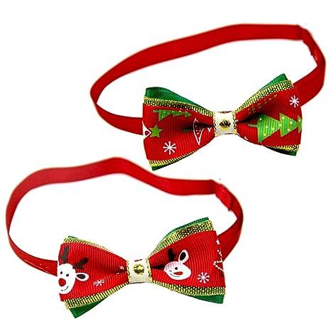 Balacoo 10 Piezas Corbatas para Mascotas de Navidad Perro Corbata ...