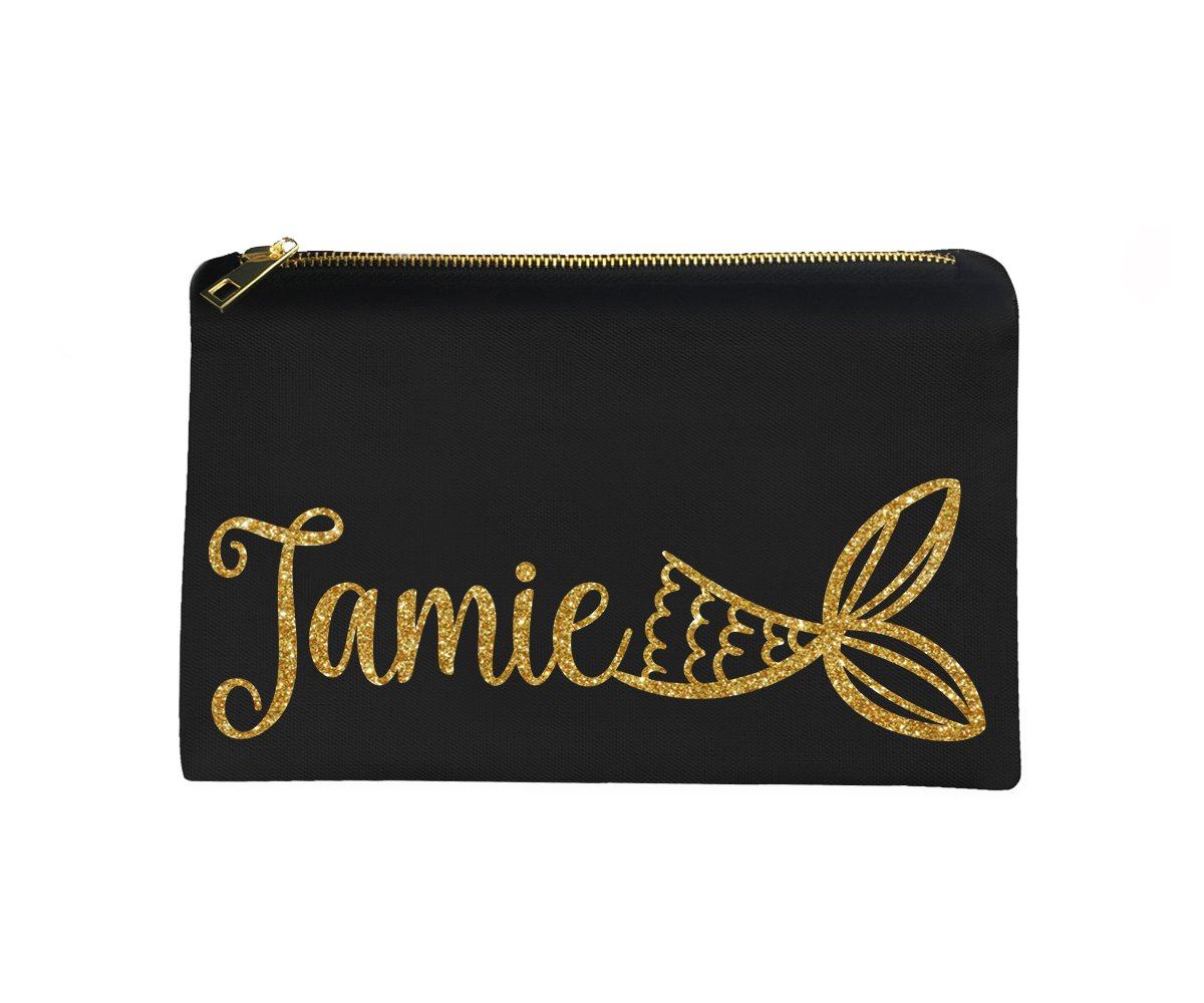 Personalized Mermaid Tail Make-Up Bag