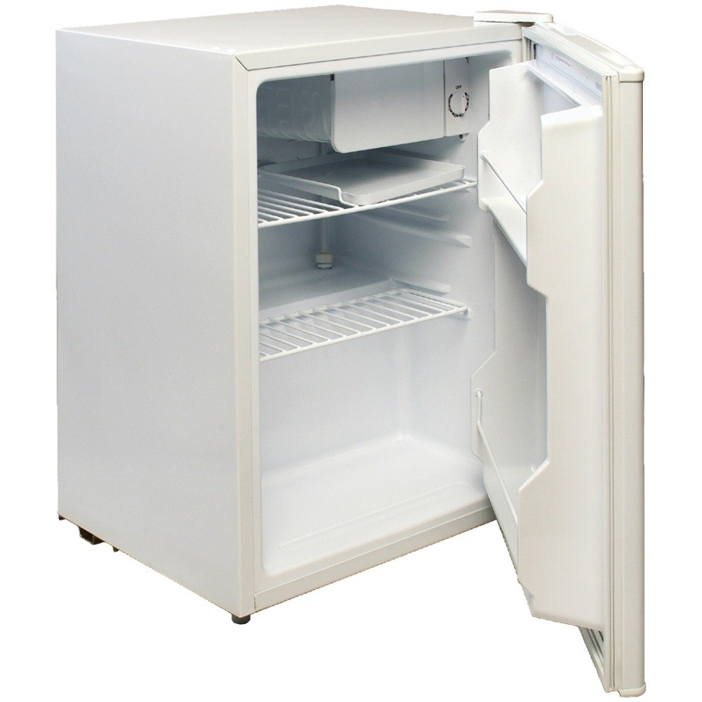 Magic chef mini fridge review - Amazon Com Magic Chef Mcbr240w 2 4 Cubic Feet Refrigerator White Compact Refrigerators Kitchen Dining