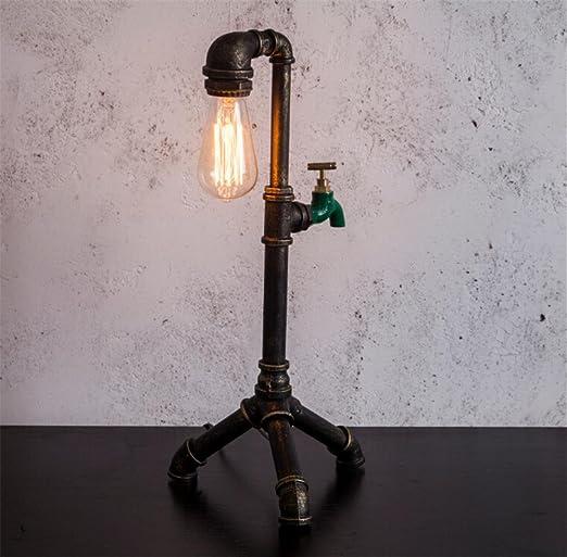 Atmko Lámparas de escritorio Tubos de Agua Lámpara de Mesa ...