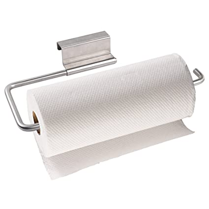 Paper Towels Holder Swivel Storage Organizer Rack Hook 11.8u201dx1.6u201dx1.