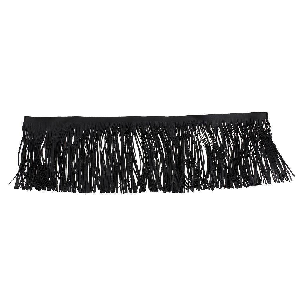 Blesiya 1Piece 100cm Kunstlederbesatz Dekorieren Vorhang Schuhe, Taschen, Stiefel, Handwerk Zubehö r