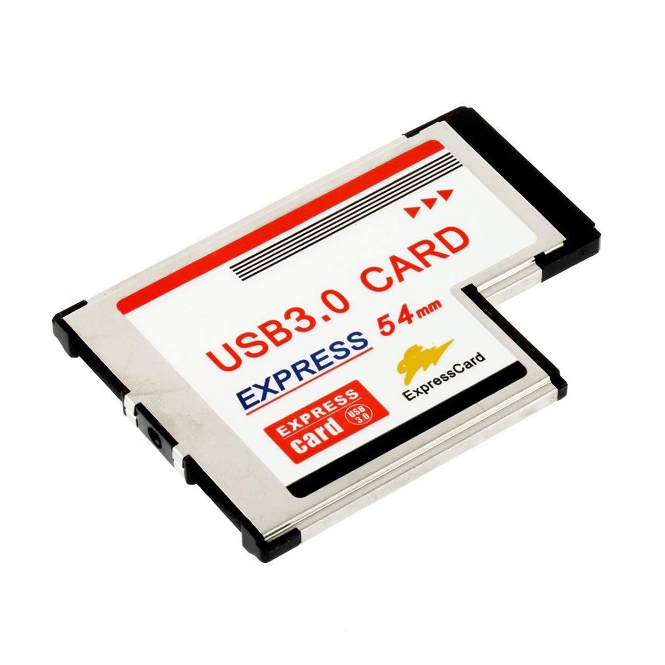 Jiobapiongxin Adaptador de Tarjeta ExpressCard de Alta ...