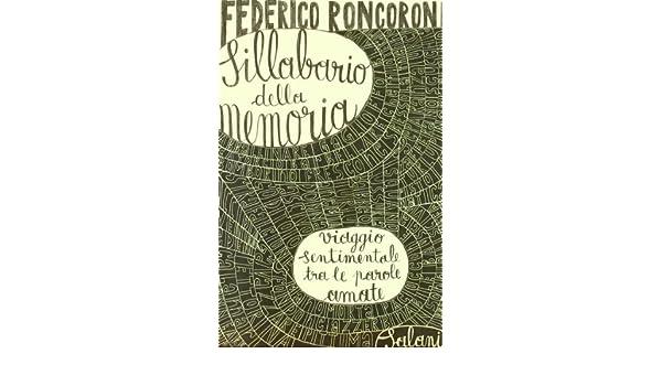 Sillabario della memoria (Italian Edition)