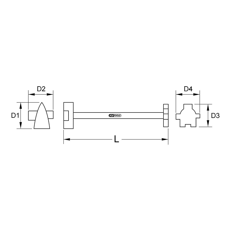 KS Tools 963.8272 BRONZEplus Spezial-Universalschlüssel 400 mm B00QU7MNAC Handbohrer Rich-pünktliche Rich-pünktliche Rich-pünktliche Lieferung 2e124c