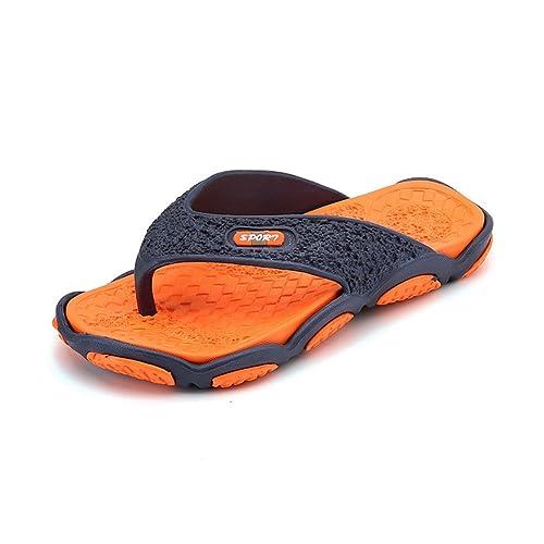 6b9694c7c6f sunworld - Zapatillas de recuperación y Sandalias Suaves para Hombre ...