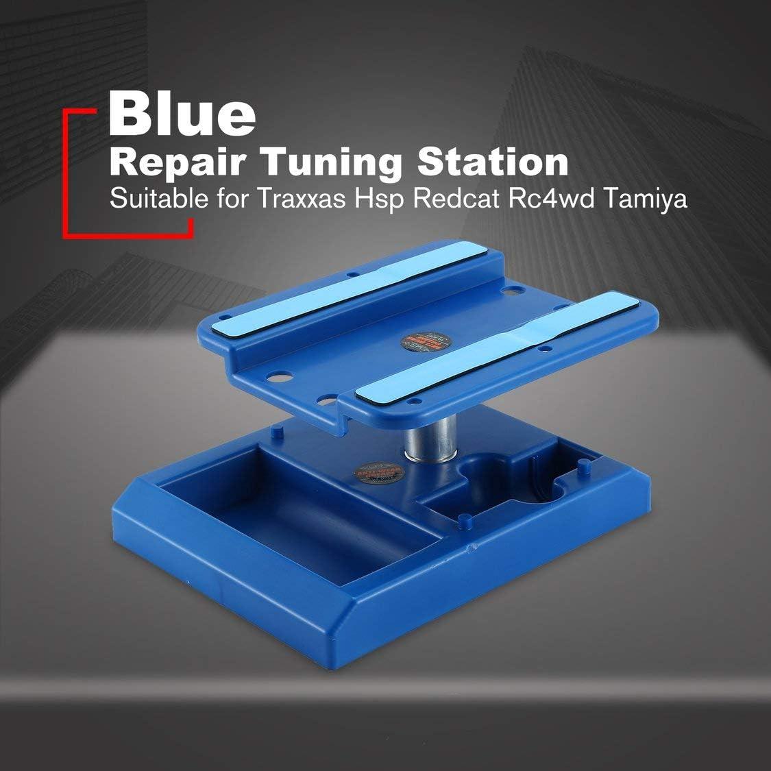 Dynamovolition Repair Station Work Stand Piattaforma di Montaggio Rotante Piattaforma Staffa Modello di Auto per Traxxas Hsp Redcat Axial SCX10 D90