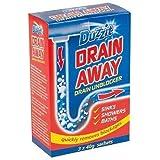 Duzzit Lot de 3 sachets de déboucheur Drain Away 40 g