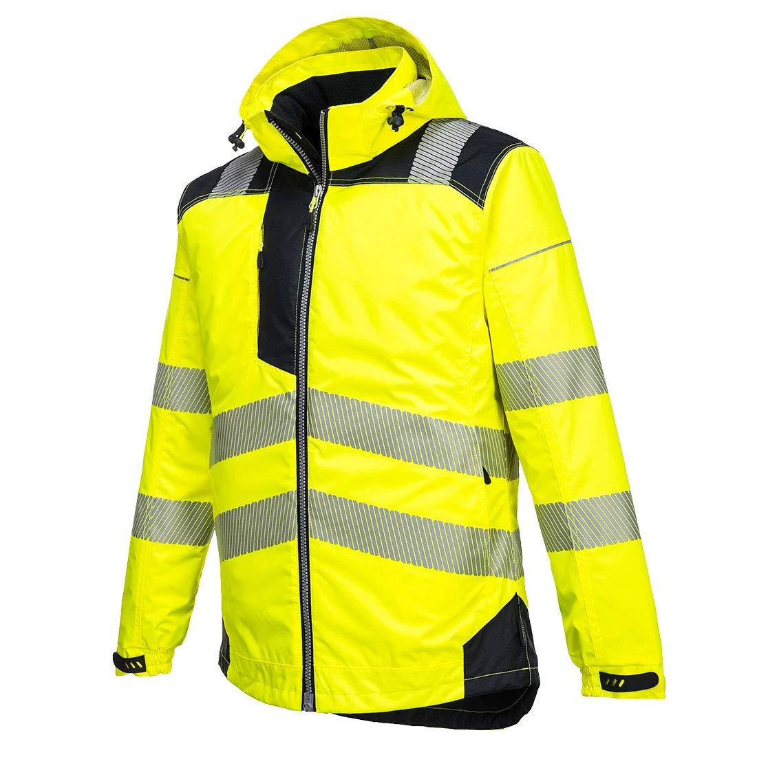 Portwest PW3 Hi-Vis Winter Jacket Work Safety Protective Reflective Waterproof Coat ANSI 3, XXL by Portwest (Image #3)