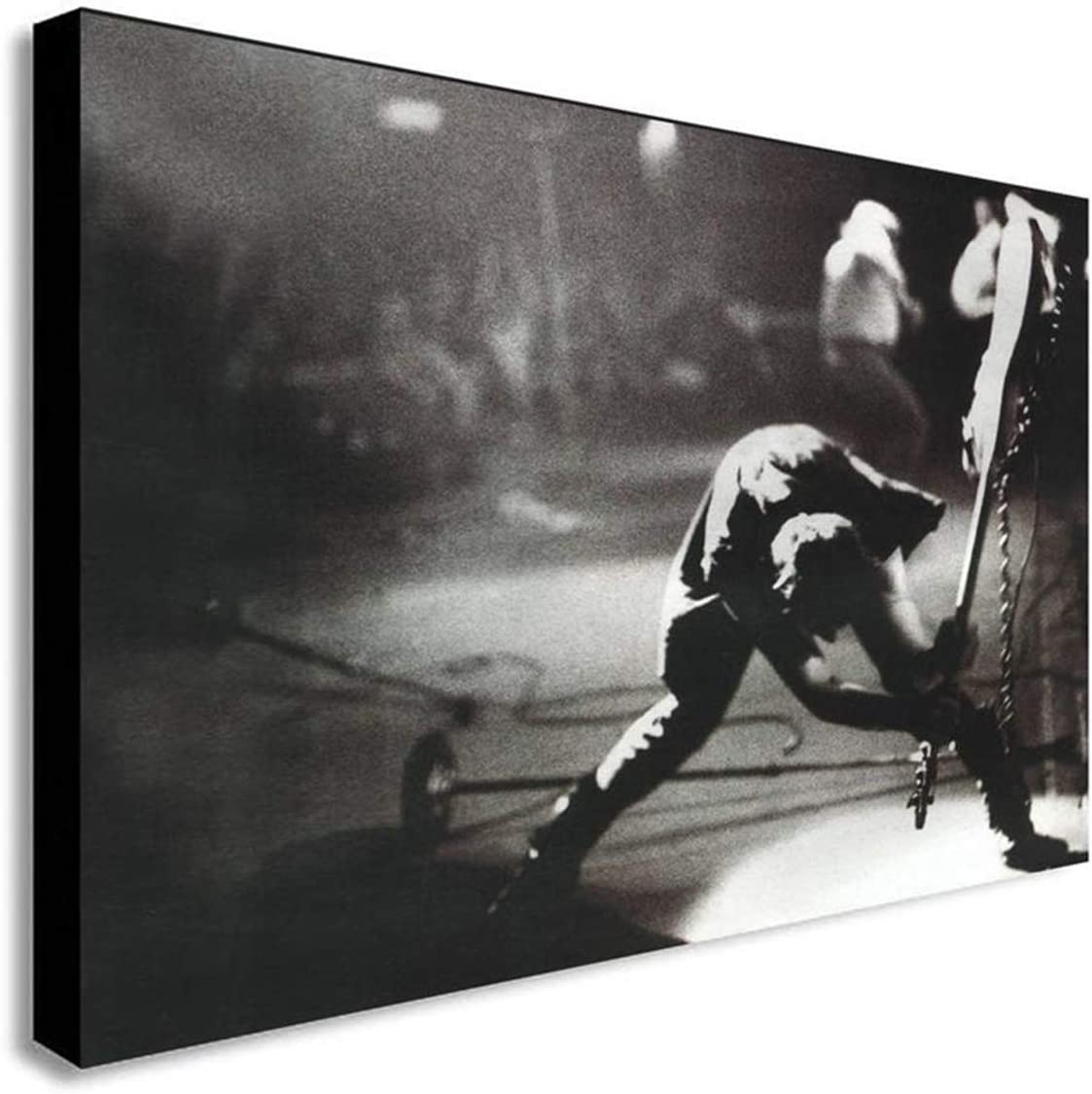 DOLUDO Canvas Wall Art The Clash London Posters Painting Home Decor Artwork for Living Room Bed Room Wall Decoration No Frame 12x20inch