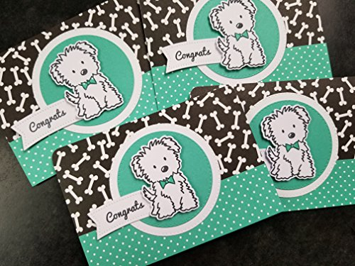 Congratulations on Your New Dog Greeting Card, Dog Lover Gift