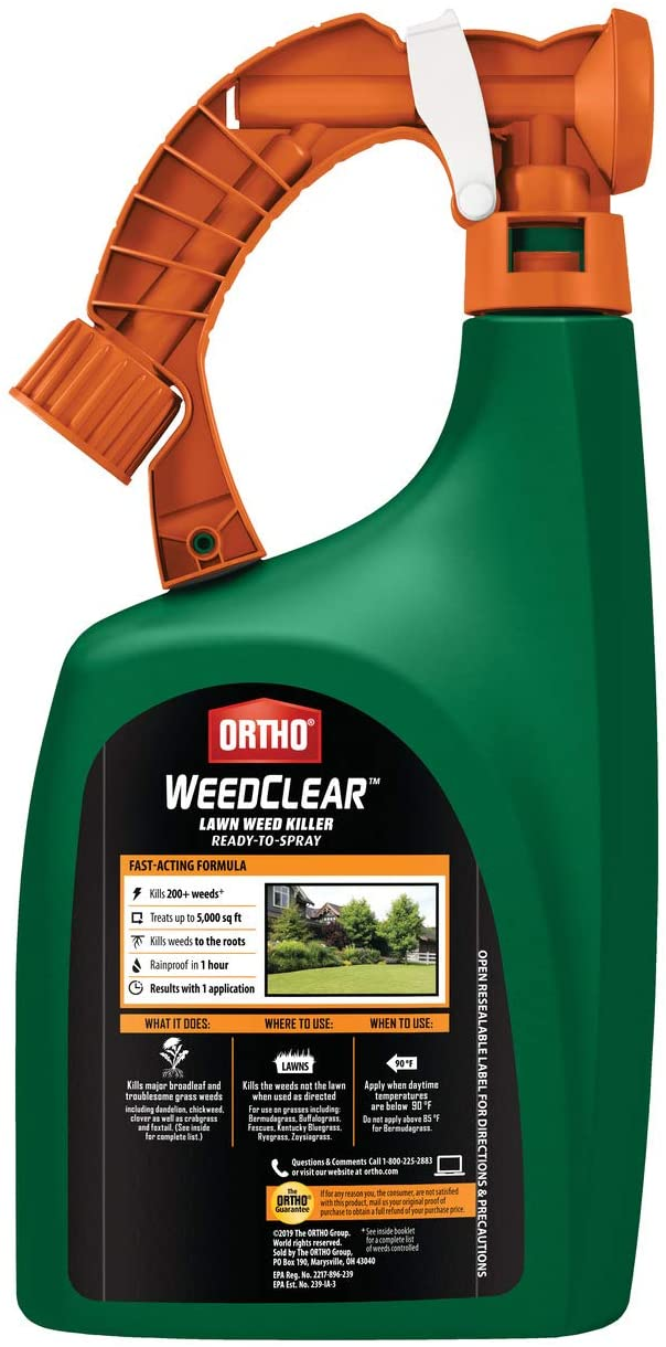 Ortho WeedClear Lawn Weed Killer Ready to Spray