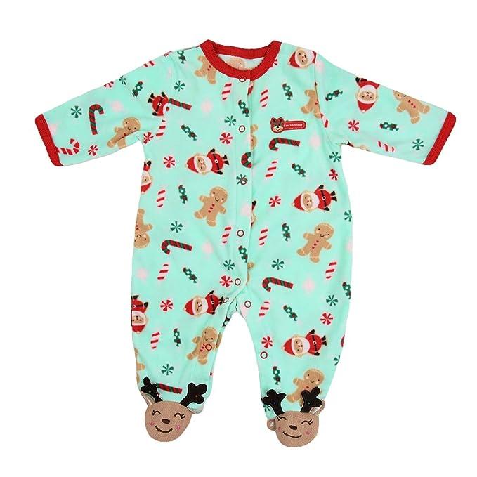 Little Hand Bebé niño o niña manga larga invierno grueso pijama Mono para Bebés