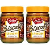 Biscoff Crunchy Cookie Butter Spread 13.4 Ounces (Pack of 2)