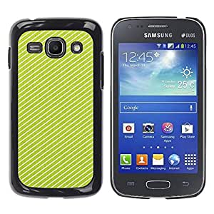 Paccase / SLIM PC / Aliminium Casa Carcasa Funda Case Cover para - Lines Clean Design Present - Samsung Galaxy Ace 3 GT-S7270 GT-S7275 GT-S7272