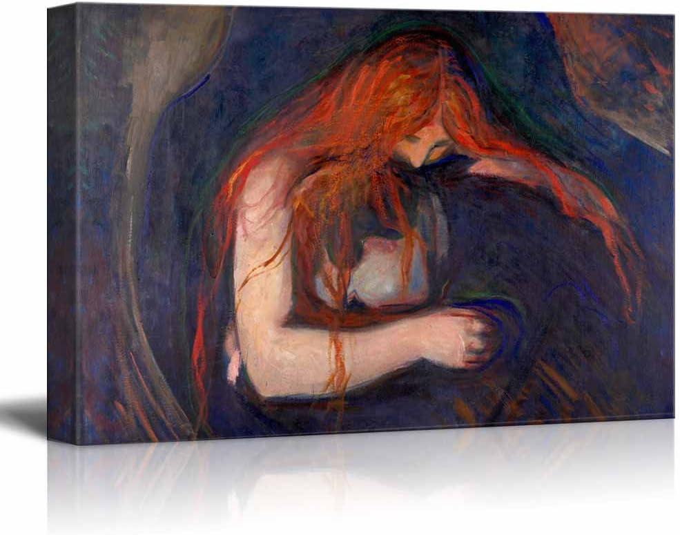 Vampire by Edvard Munch Wall Decor