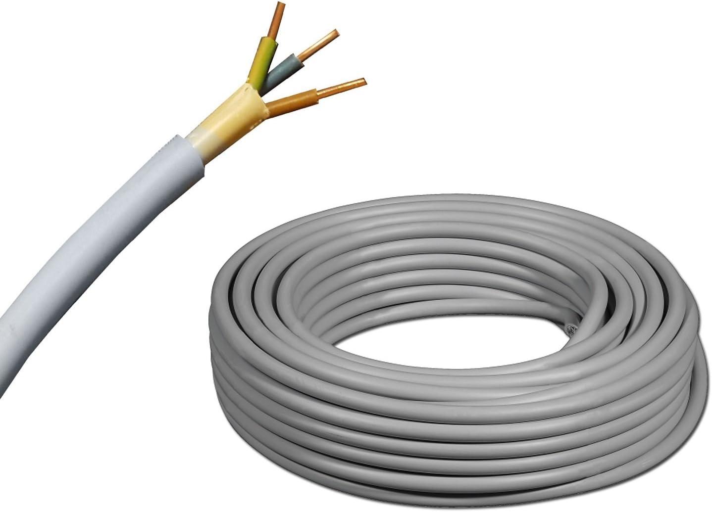 Exemple : 5 m - C/âble dinstallation 50 m etc. Longueur au choix en 1 m/ètre 20 m 25 m C/âble gain/é NYM-J 3 x 2,5 mm2 mm2 15 m 10 m 18 m