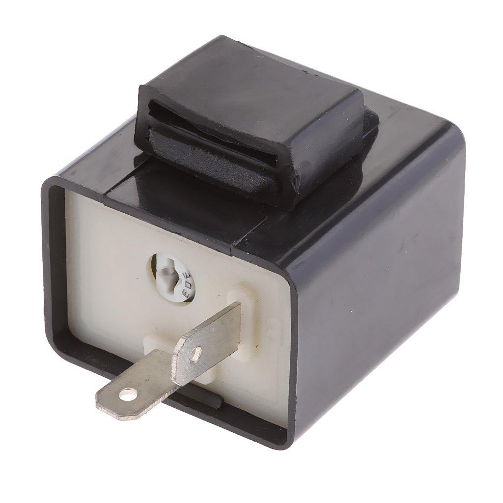 Installazione Facile Rel/è a 2 pin Intermittente 12V LED per Motocicli