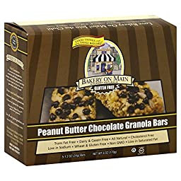 Bakery On Main Peanut Buttercup Granola Bar Gluten Free (3x6 oz.)