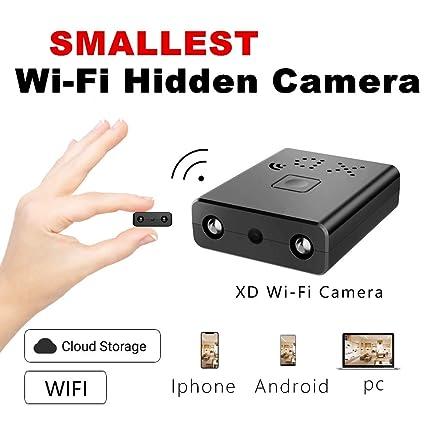 Mini cámara Oculta espía HD WiFi ZTour con visión Nocturna y conexión remota Desde iPhone/