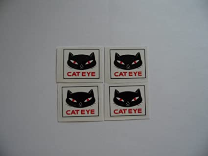 Cat Eye Sticker Bike Bicycle Cycle Cateye 2 Decal Stickers