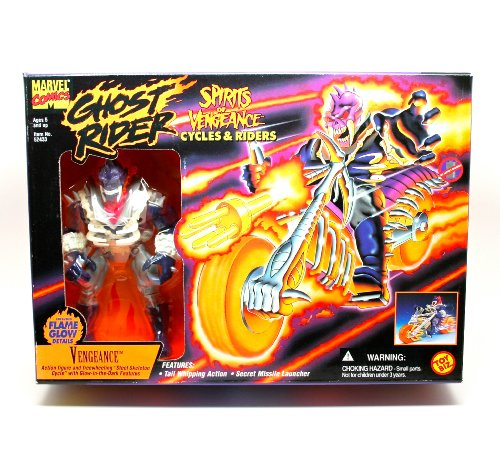 Ghost Rider VENGEANCE Cycle with Rider