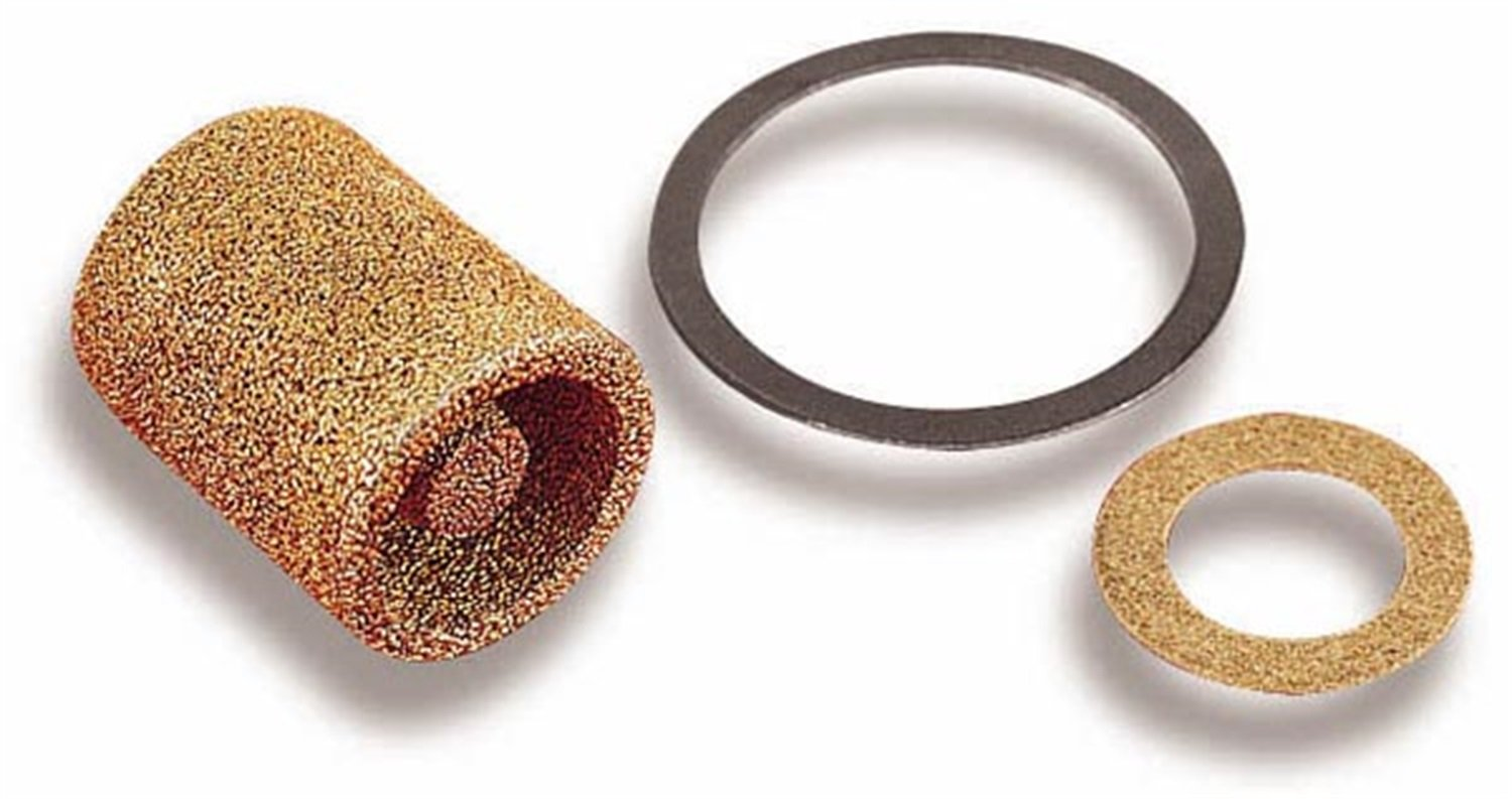Amazon.com: Holley 162-500 Brass Carburetor Fuel Inlet Filter - Pack of 2:  Automotive