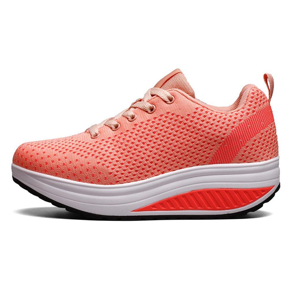 LFEU - botas de caño bajo Mujer 35 EU|naranja