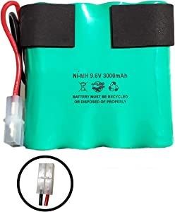 PB8Cell Battery PB-8Cell 8C2219MF-AF 8C2219MFAF 9.6v 3000mAh Ni-MH Battery Pack Replacement for Vacuum Pool Blaster MAX CG Water TECH 31065248