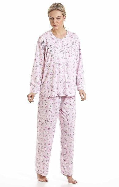 Socks Uwear De Flores de Kuddle Mujer Polialgodón en Flor de Sifón Sea Pijamas de Pijama