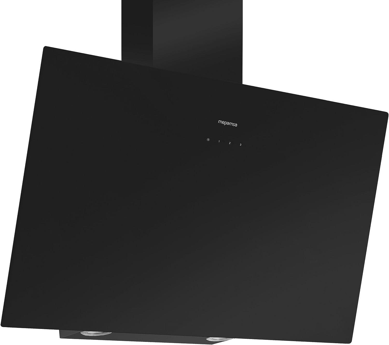 Mepamsa Display Green Power 90 Campana aspirante clase A, color negro, 2 W, Vidrio templado, 4 Velocidades: 390.66: Amazon.es: Grandes electrodomésticos
