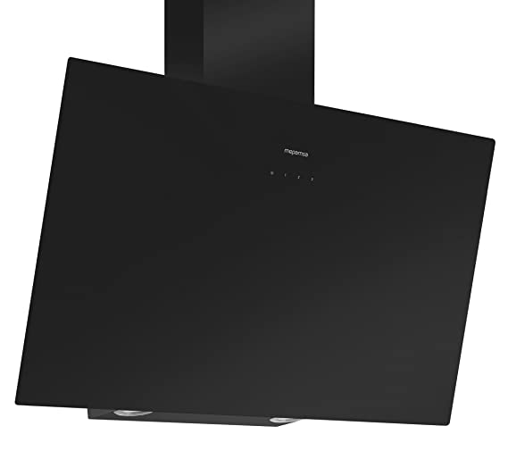 Mepamsa Display Green Power 90 Campana aspirante clase A, color negro 2 W, Vidrio